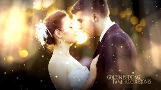 getlinkyoutube.com-FREE TEMPLATE SONY VEGAS PRO 11 - 12 - 13 - GOLDEN WEDDING ll [TAME PRODUCCIONES]