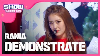 getlinkyoutube.com-(Showchampion EP.168) RANIA - DEMONSTRATE (라니아-DEMONSTRATE)