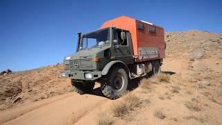 getlinkyoutube.com-Unimogging to Morocco - Kamillo Unimog travel in the desert