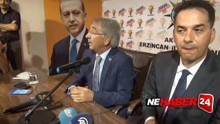 Erzincan Ak Parti'de İl Başkanı Devir Teslim Töreni Yapıldı