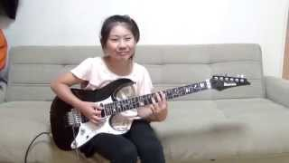 "getlinkyoutube.com-Dream Theater ""Lost Not Forgotten"" cover / Li-sa-X (Japanese 10 year old girl)"