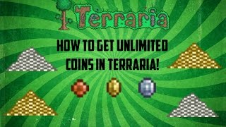 getlinkyoutube.com-Terraria ios 1.2.4 | Super easy way to duplicate coins! (All platforms) [2016]