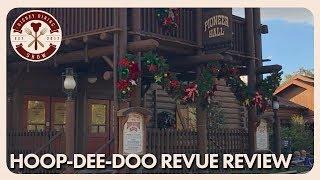 Hoop-Dee-Doo Musical Revue Review | Disney Dining Show | 12/15/17