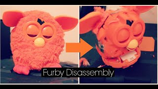 getlinkyoutube.com-Furby 2012 - Full Disassembly - [Tutorial]