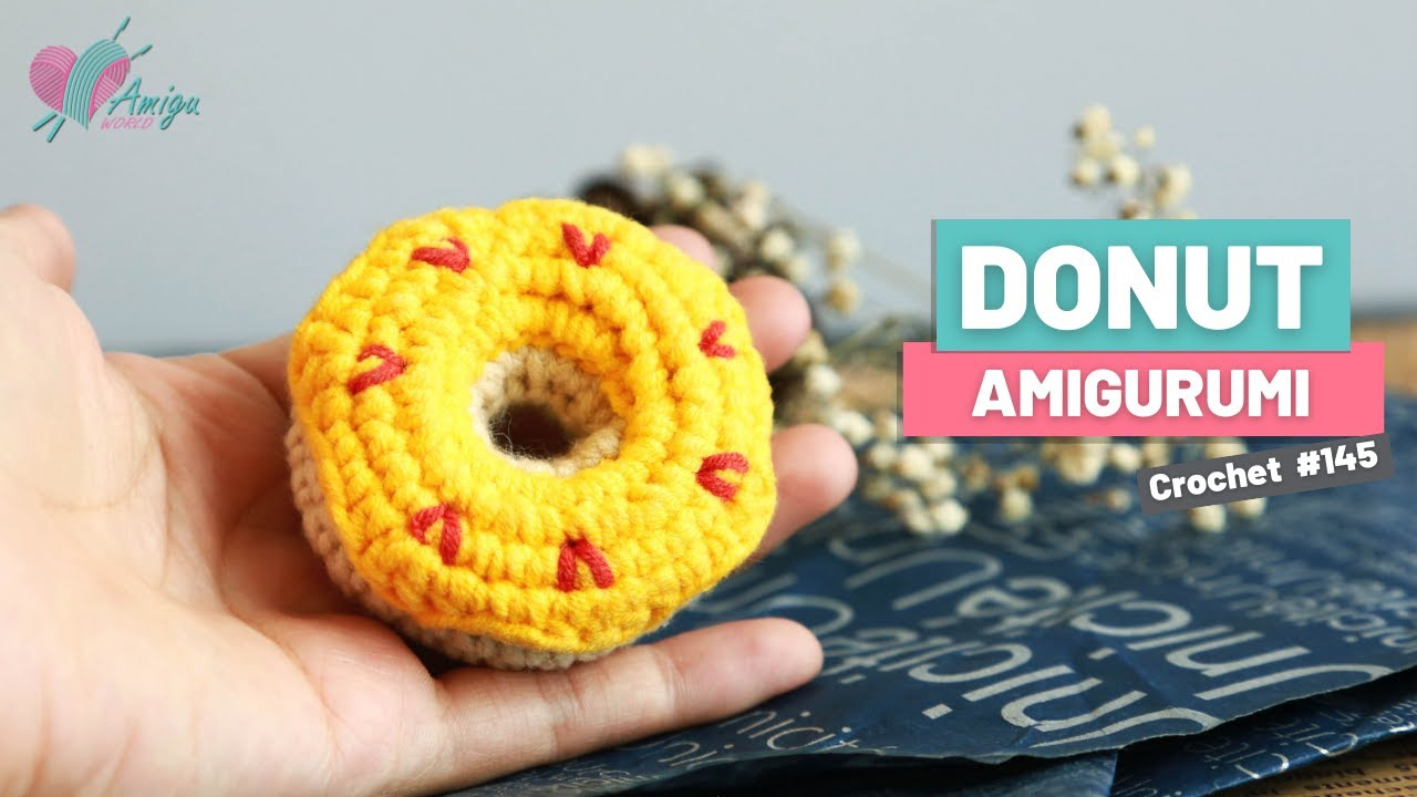 FREE pattern – How to crochet a Donut
