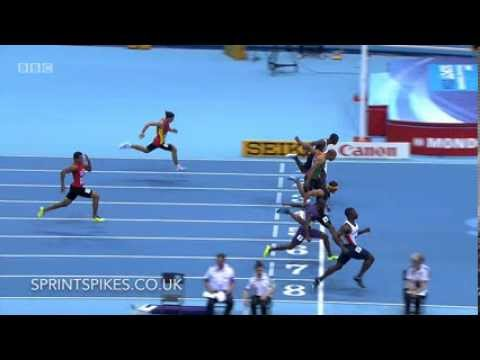 Dwain Chambers - 6.57 - 60m Heat 6 IAAF world indoor Championships 2014
