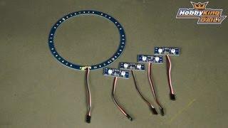 getlinkyoutube.com-HobbyKing Daily - Turnigy LED Strobe Lights
