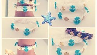 getlinkyoutube.com-DIY: Como hacer pulseras faciles en casa! Materiales reciclados!