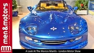 getlinkyoutube.com-A Look At The Marcos Mantis - London Motor Show