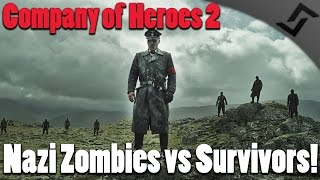 getlinkyoutube.com-Company of Heroes 2 - Nazi Zombies vs Survivors!