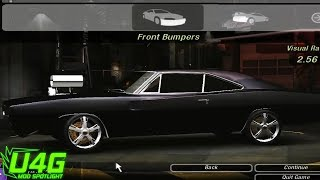 getlinkyoutube.com-Need For Speed Underground 2 Dodge Charger R/T 69 tuning by United4Games