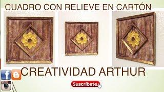getlinkyoutube.com-cuadro con relieve en carton