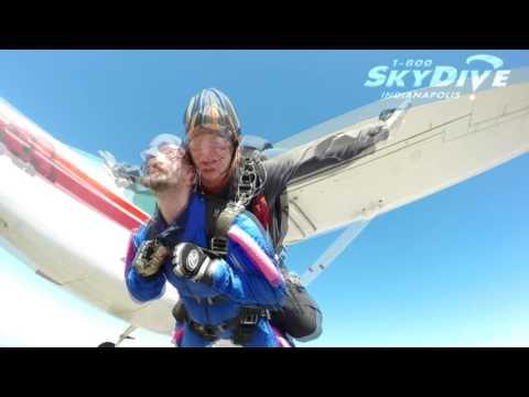 Adam Neidig's Tandem skydive!