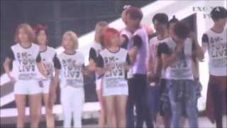 getlinkyoutube.com-[ExoYoong Moment #7] 150705 & 150706 Sehun & YoonA | YoonHun at SMTown Tokyo