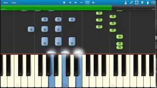 getlinkyoutube.com-Fetty Wap - Trap Queen - Piano Tutorial - How to play Trap Queen - Synthesia