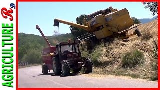 getlinkyoutube.com-New Holland AL 59 EXTREME  - Hillside Combine
