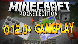 getlinkyoutube.com-0.13.0 - 0.14.0 CONCEPT GAMEPLAY! - Maps and Dispensers - Minecraft Pocket Edition