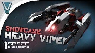 getlinkyoutube.com-Mark 7 Viper and Dogfight [Space Engineers]