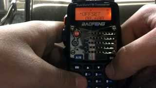 How to program Baofeng UV5R/UV82 without usb cable