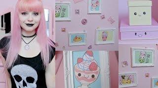 getlinkyoutube.com-DIY: Kawaii/ Pastel Goth Room Decor