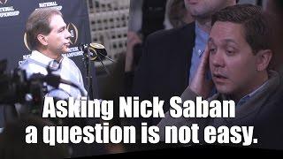 getlinkyoutube.com-Asking Nick Saban a question isn't easy