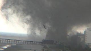 getlinkyoutube.com-Beach Tornado - Myrtle Beach