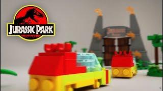 getlinkyoutube.com-Lego Microscale Jurassic Park