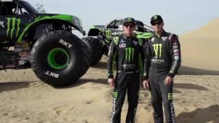 Monster Energy Monster Jam truck - 2017 body style reveal