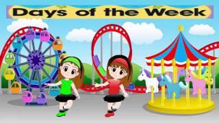 getlinkyoutube.com-أيام الأسبوع باللغة الأنجليزية