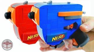 getlinkyoutube.com-How to Build Working LEGO Nerf Guns