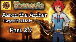 getlinkyoutube.com-Terraria 1.3.4 Expert Modded Archer Let's Play Part 20 | Aaron's OP BOW!