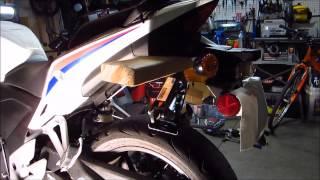 getlinkyoutube.com-CBR500R Rear Shock Upgrade / Replacement (w/ GSX-R600)