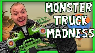 getlinkyoutube.com-SquiddyPlays - Poly Bridge - MONSTER TRUCK MADNESS! [4]
