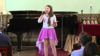 VOCEA CETATII SIGHISOARA  Diandra Bancu  Suflet de copil  Trofeul grupei 9-11 ani