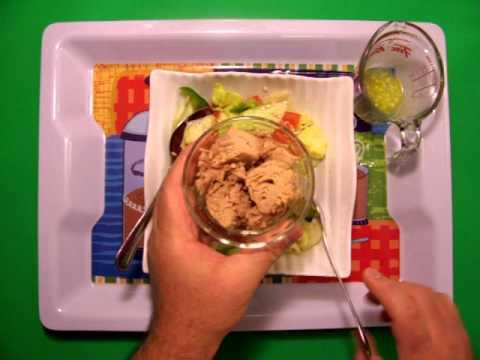 أكله رهيبه: سلطه التونه