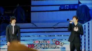 getlinkyoutube.com-[Fancam] [100522] SS501 Let me be the one Dream Concert 2010 - HyunSaeng focus