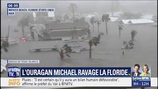 L'ouragan Michael a ravagé la Floride avec des vents soufflant à plus de 250 km/h width=