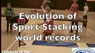 getlinkyoutube.com-The Evolution of Sport Stacking World Records (2.0)