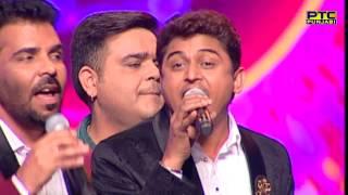 Master Saleem, Kanth Kaler & Feroz Khan singing Aaj Hona Deedar | Live | Voice Of Punjab Season 7