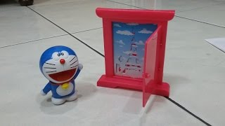 getlinkyoutube.com-Doraemon Stencil Toys from Chaki Meal KFC