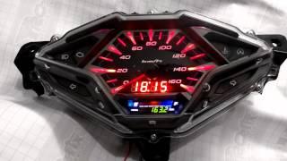 getlinkyoutube.com-Custom Speedometer Vario 150 Fi
