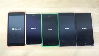 getlinkyoutube.com-Microsoft Lumia 535 vs. 635 vs. 735 vs. 830 vs. 930 - Which Is Faster? (4K)