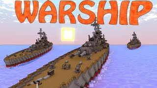 getlinkyoutube.com-Minecraft Archimedes Ships Mod & Small Boats Mod Showcase - Pirate Ships!