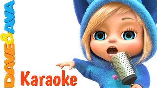 getlinkyoutube.com-Wheels on The Bus and Many More Nursery Rhymes Karaoke Songs Collection | From Dave and Ava
