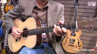 getlinkyoutube.com-NAMM '13 - Eastman Guitars E10D, E20OM, T184MX, & AR372CE Demos
