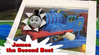 "getlinkyoutube.com-トーマス プラレール ガチャガチャ ジェームスは2ばんめ Tomy Plarail Thomas ""James the Second Best"""