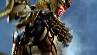 getlinkyoutube.com-Power Rangers Jungle Fury - Lion and Chameleon Zords (Rin Stampede Formation)