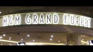 getlinkyoutube.com-MGM Grand Buffet LAS VEGAS Dinner - May 28, 2016