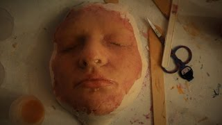 getlinkyoutube.com-DIY 'Face Mask' - silicone face special effects makeup