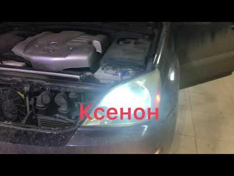 Lexus GX470 полировка фар и замена лампочек. машинадлядуши ксенон38